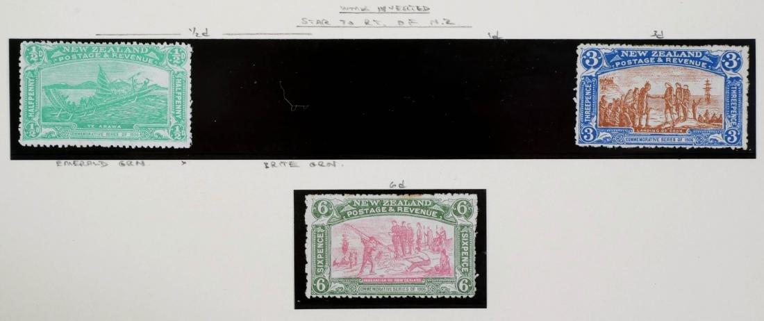 NEW ZEALAND, 1906 Christchurch Exhibition CV $600 - 3