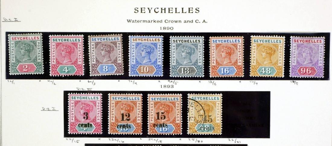 SEYCHELLES, 1890-1900 - 2