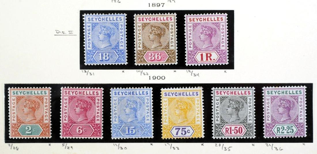 SEYCHELLES, 1890-1900 - 4