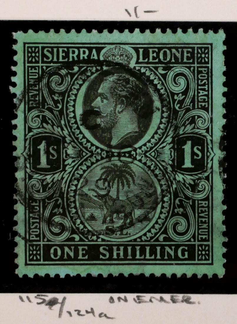 SIERRA LEONE, 1912, 1sh #115a