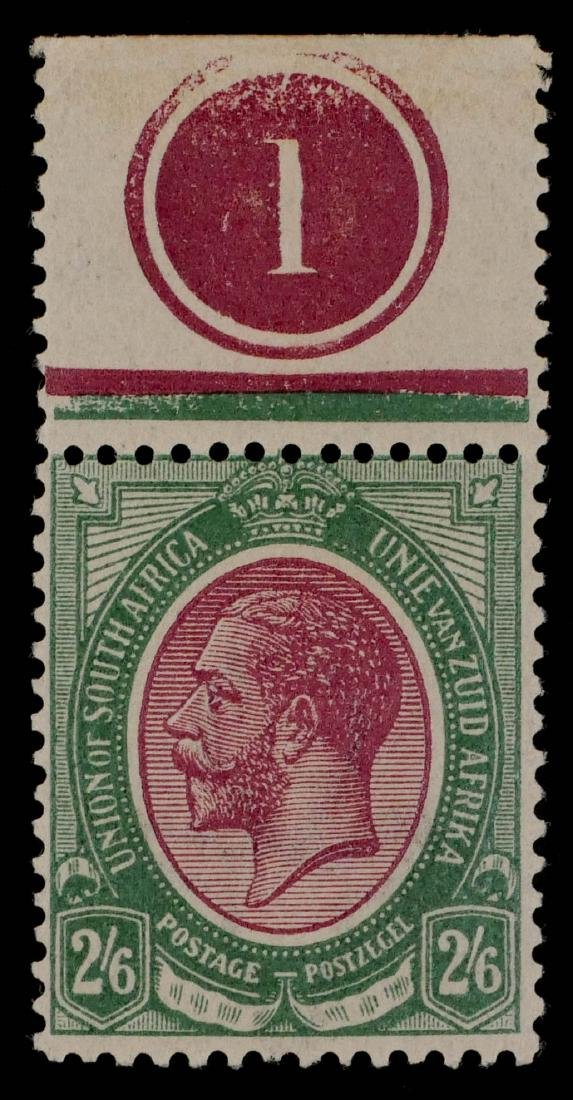 SOUTH AFRICA, 1913-22, #13 unused CV $115