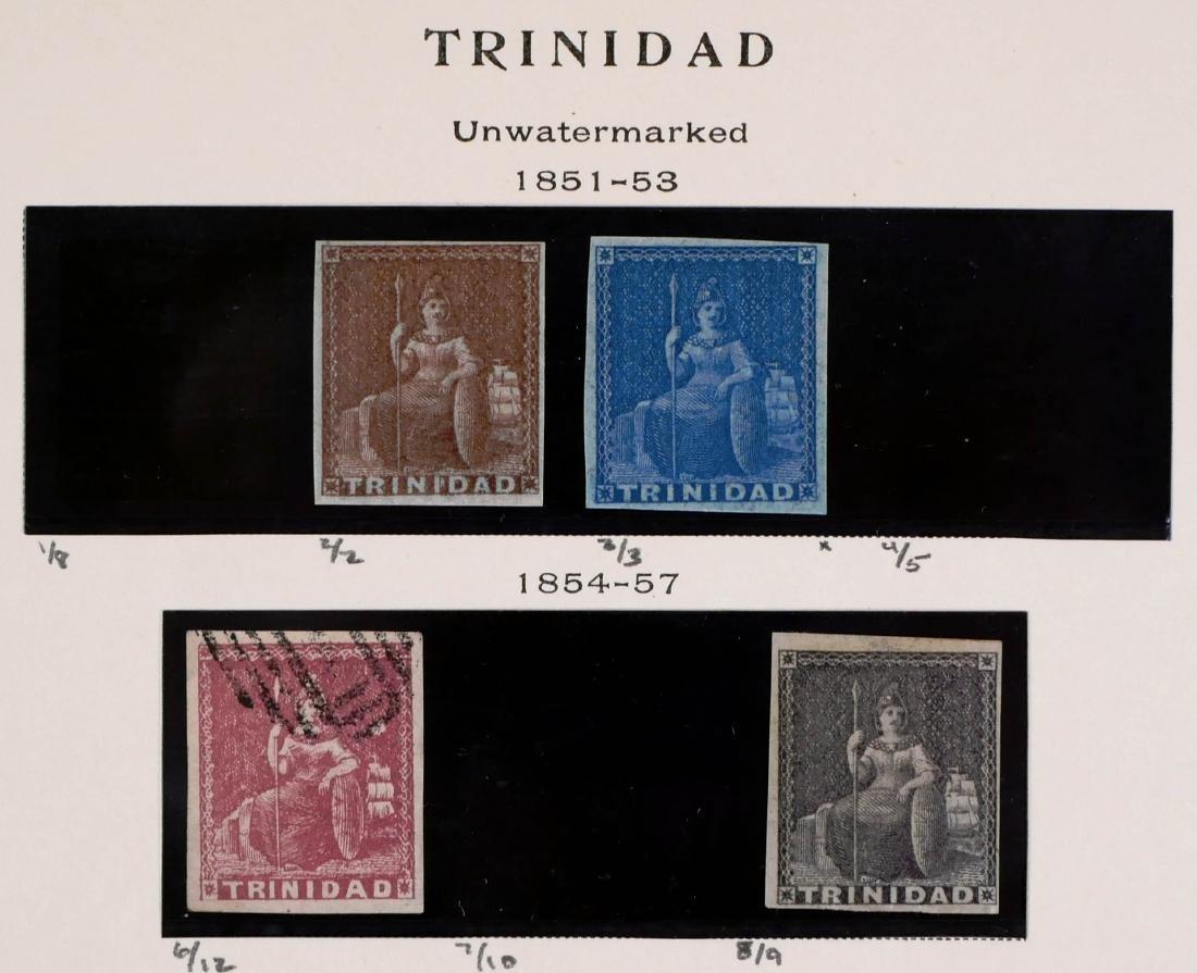 TRINIDAD, 1851-53 #2, 3, 6, 8