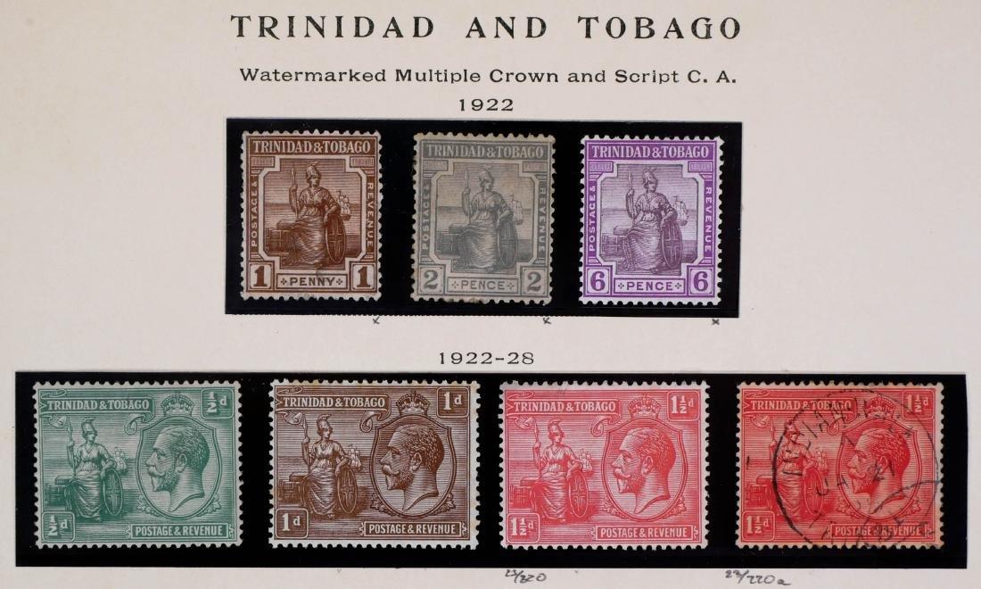 TRINIDAD & TOBAGO, 1922-28, set #21-33 - 2