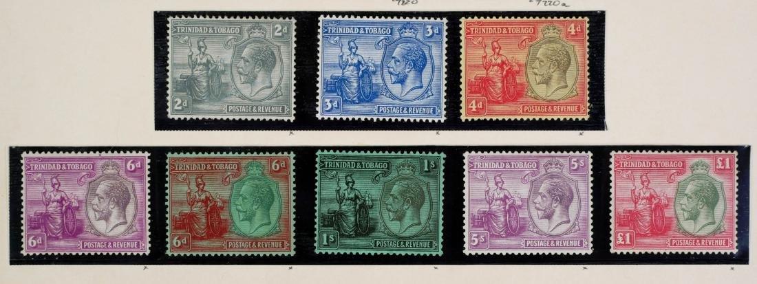 TRINIDAD & TOBAGO, 1922-28, set #21-33 - 3