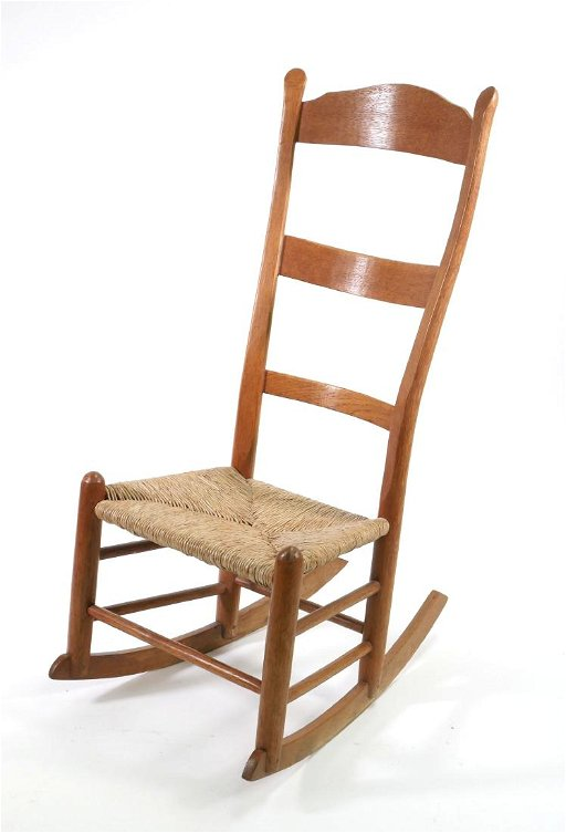 Tremendous Antique Southern Ladder Back Rocking Chair Jun 09 2018 Gmtry Best Dining Table And Chair Ideas Images Gmtryco