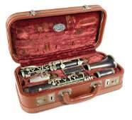 Vintage French Buffet Evette Paris Wood Clarinet