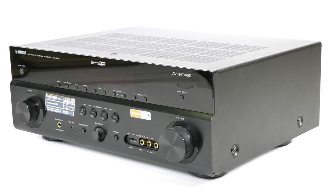 Yamaha AV Receiver RX-A800 - 2