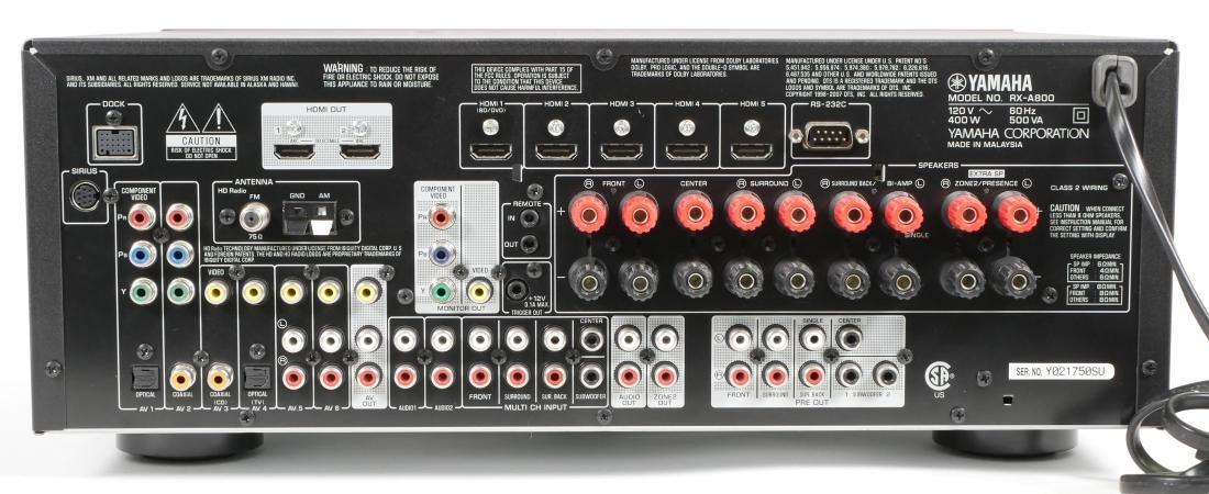 Yamaha AV Receiver RX-A800 - 4