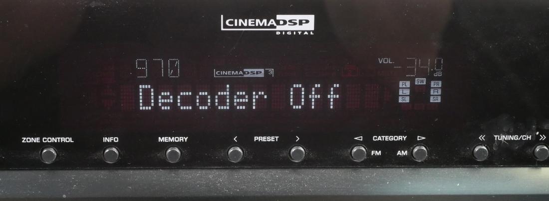 Yamaha AV Receiver RX-A800 - 5