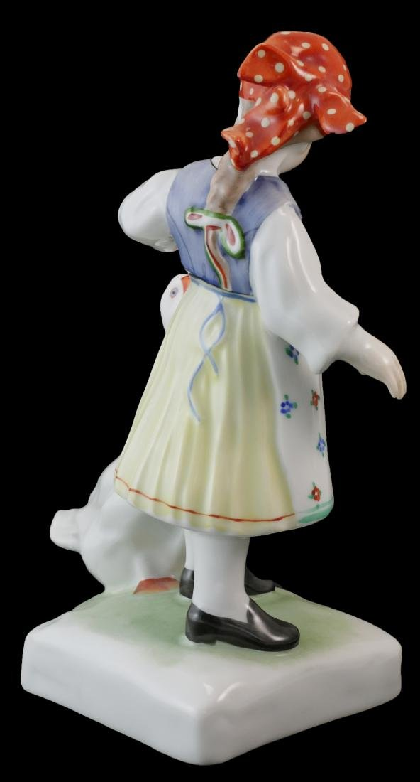 Herend Handpainted Porcelain Boy & Girl - 6