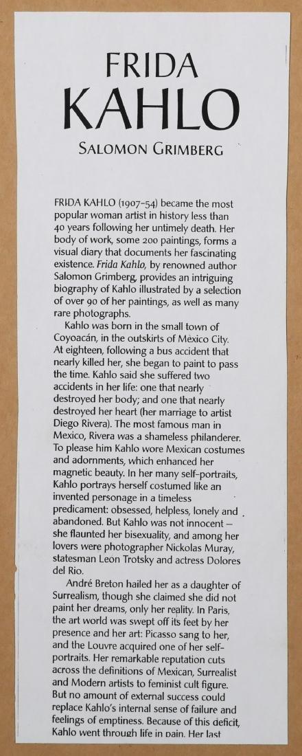 Pastel Portrait, Style of Frida Kahlo - 5