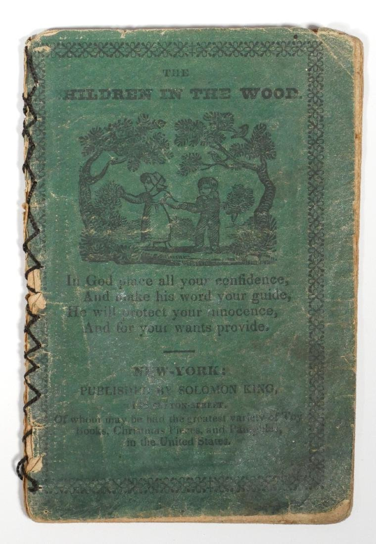 Solomon King 1820s Chapbook