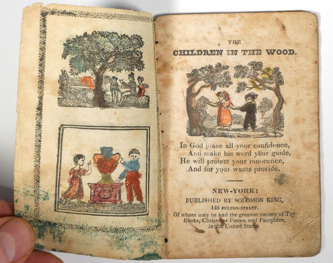 Solomon King 1820s Chapbook - 2