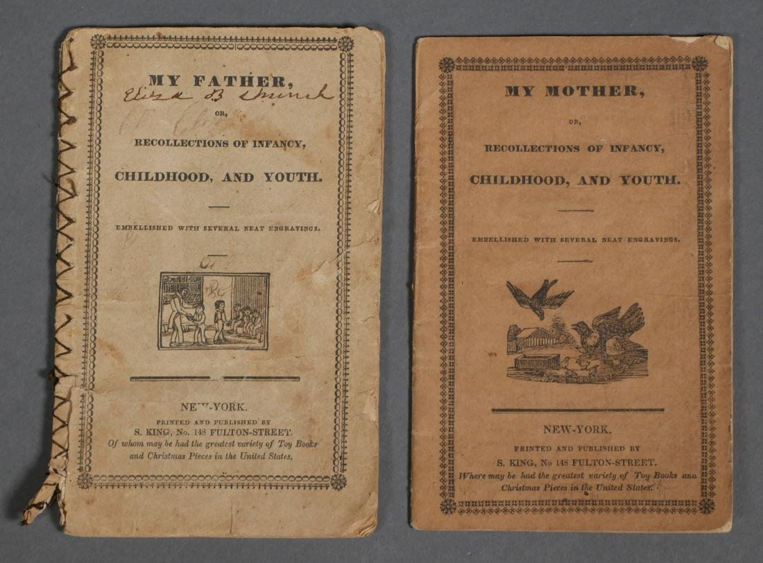 My Father My Mother 1820s Chapbooks S King