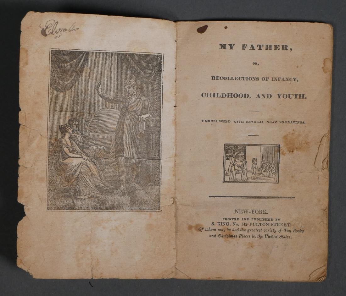 My Father My Mother 1820s Chapbooks S King - 2