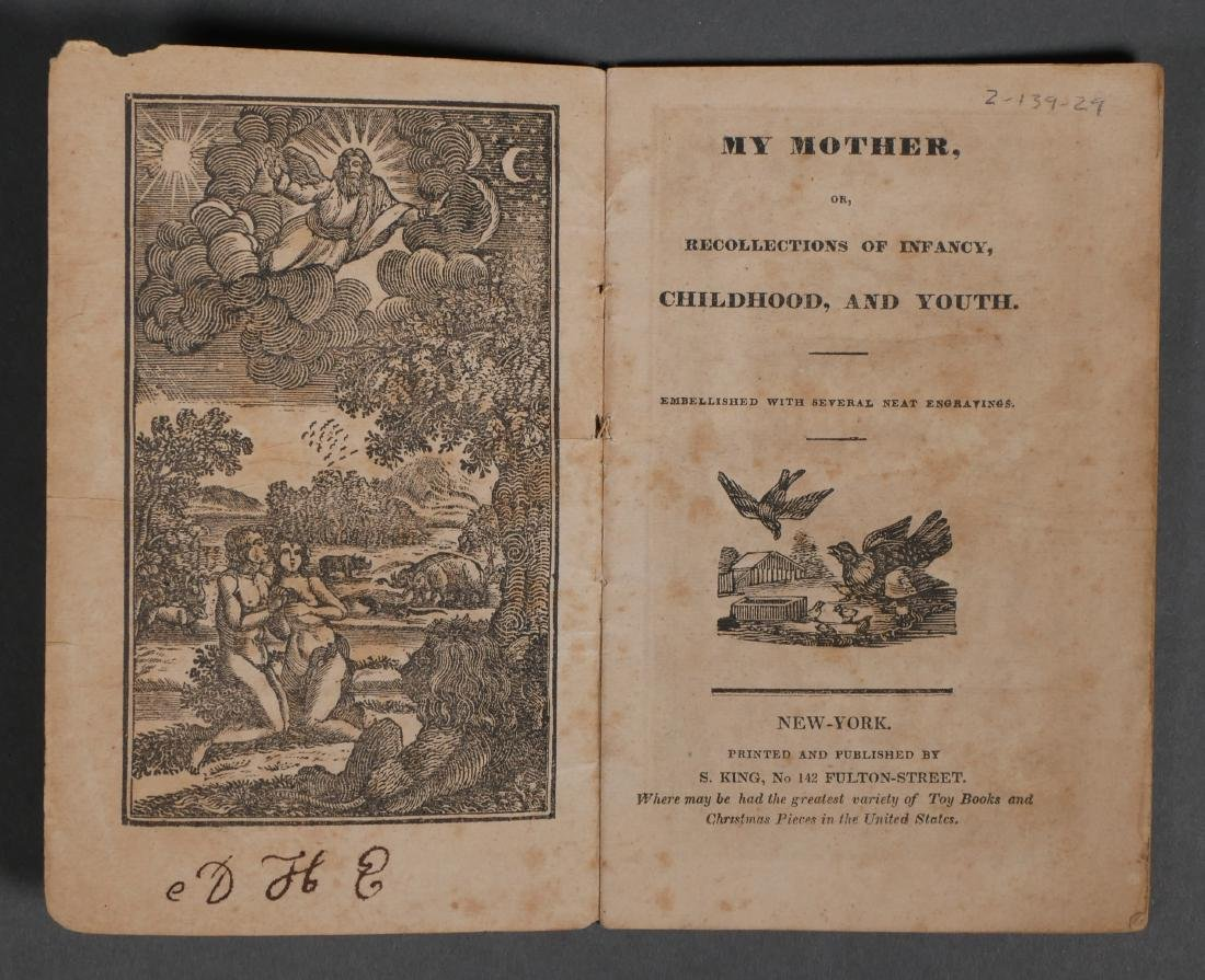 My Father My Mother 1820s Chapbooks S King - 3