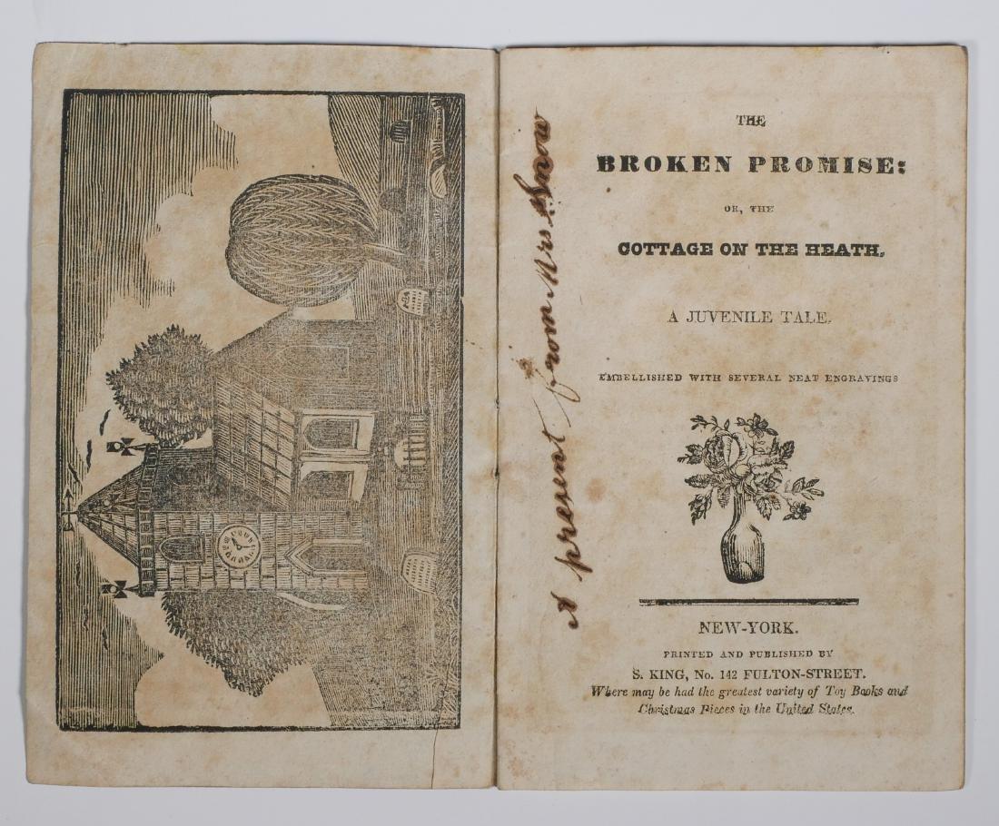 1820s Solomon King Chapbook - 2