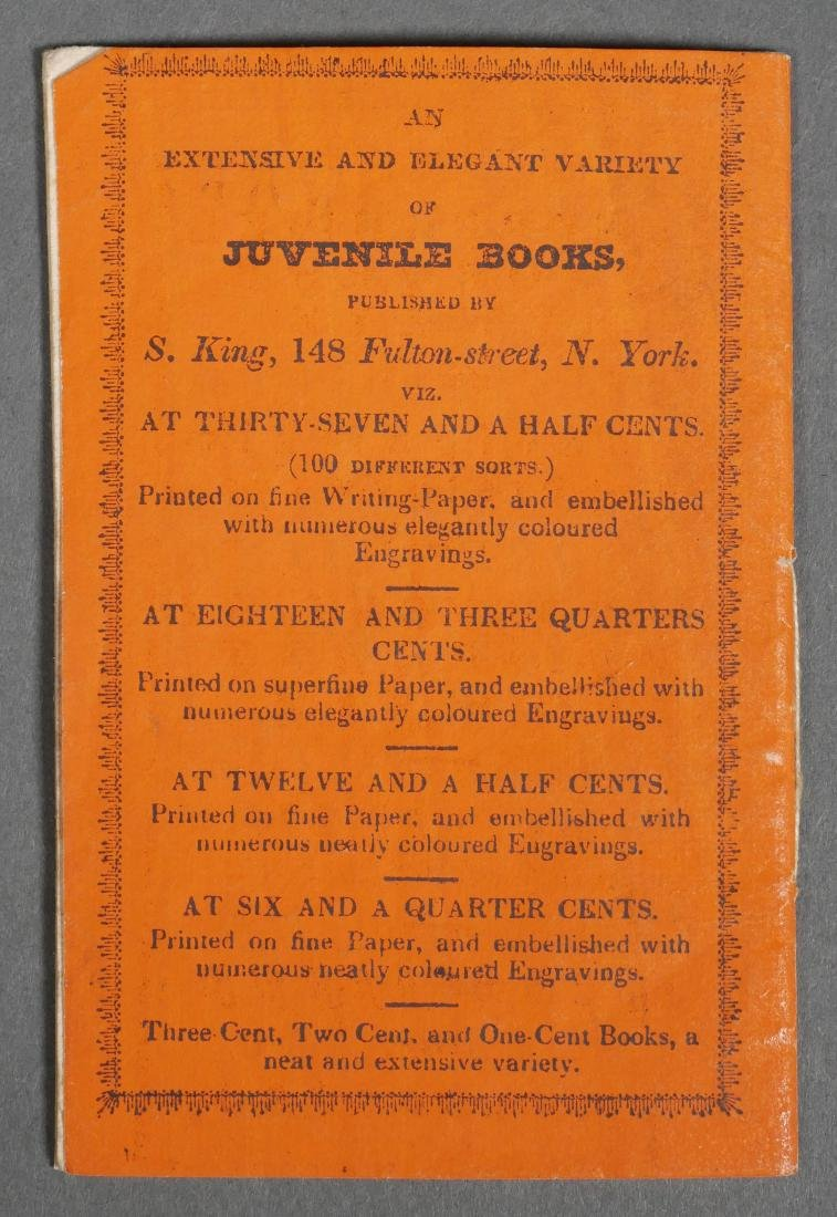 Rare Solomon King Chapbook History of Giants - 3