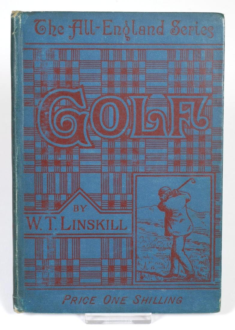 Rare 1889 Golf Instruction Book, W.T. Linskill