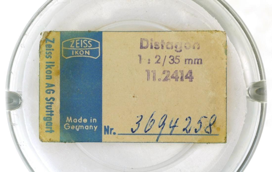 2 Carl Zeiss Lenses, Tessar & Distagon - 10