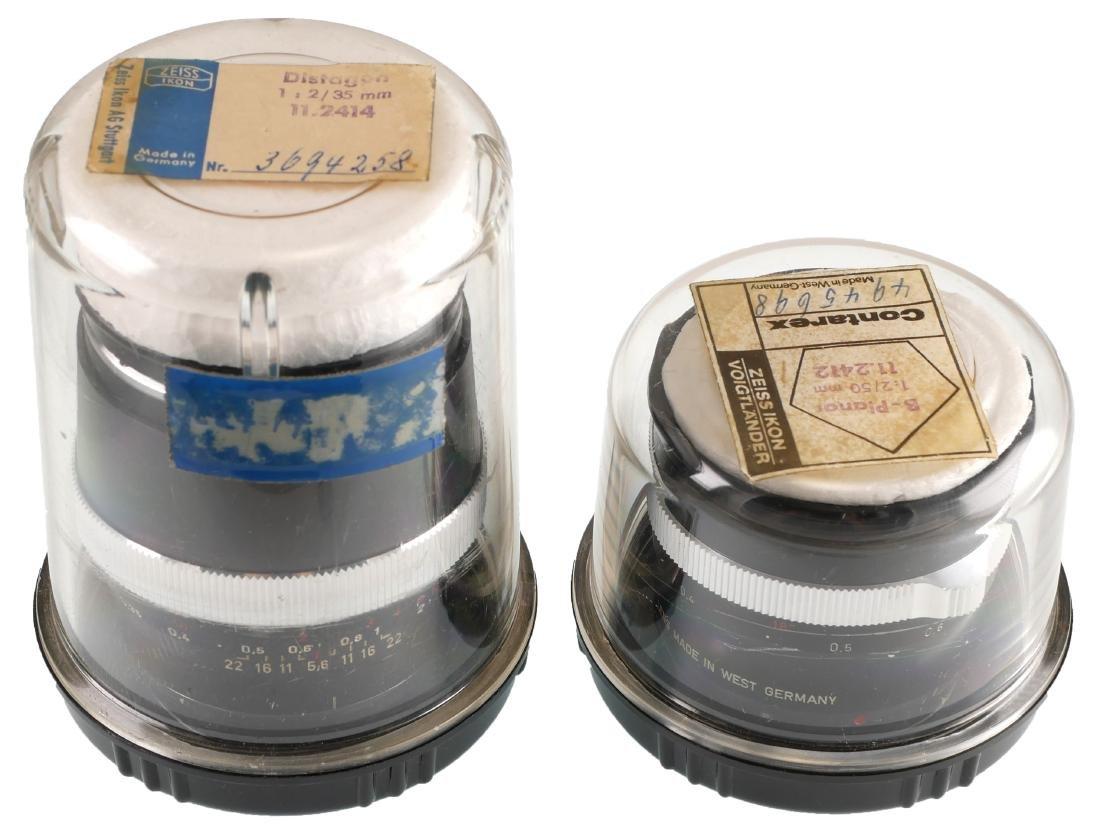 2 Carl Zeiss Lenses, Tessar & Distagon - 2