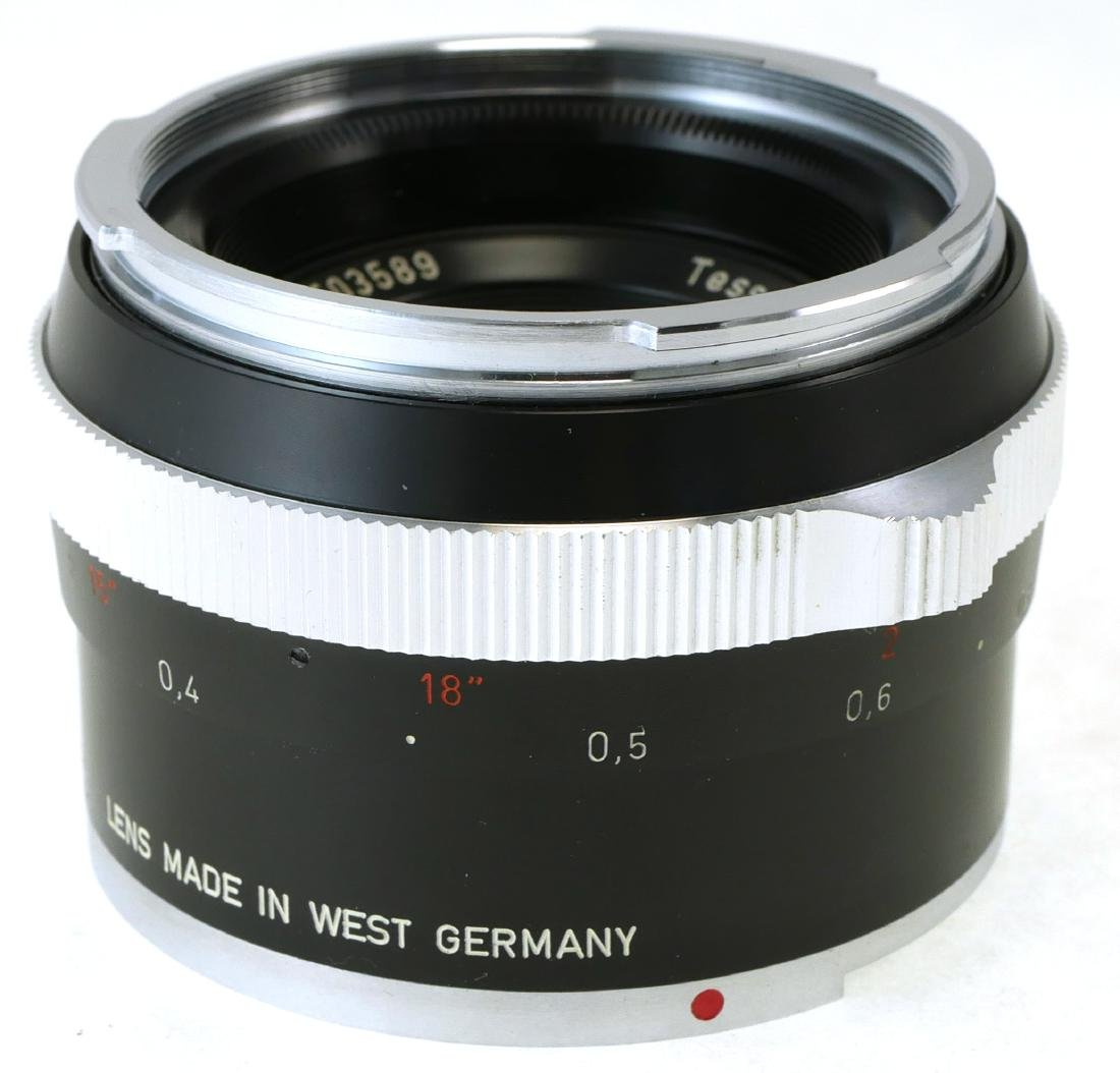 2 Carl Zeiss Lenses, Tessar & Distagon - 3