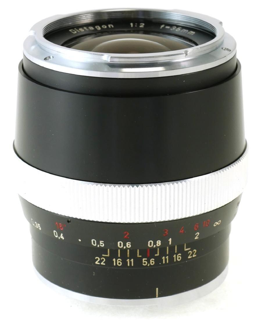 2 Carl Zeiss Lenses, Tessar & Distagon - 4