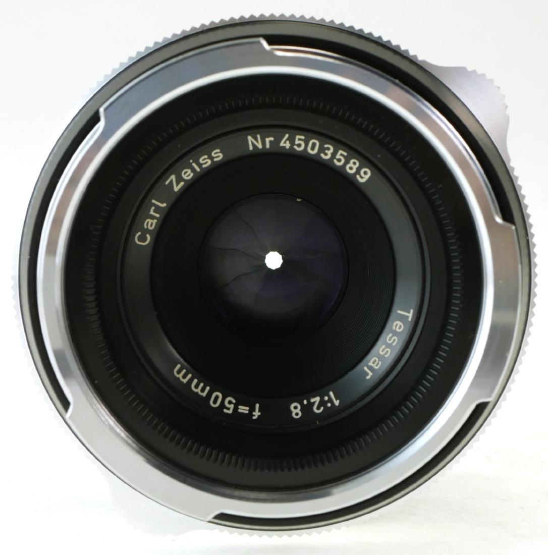 2 Carl Zeiss Lenses, Tessar & Distagon - 5