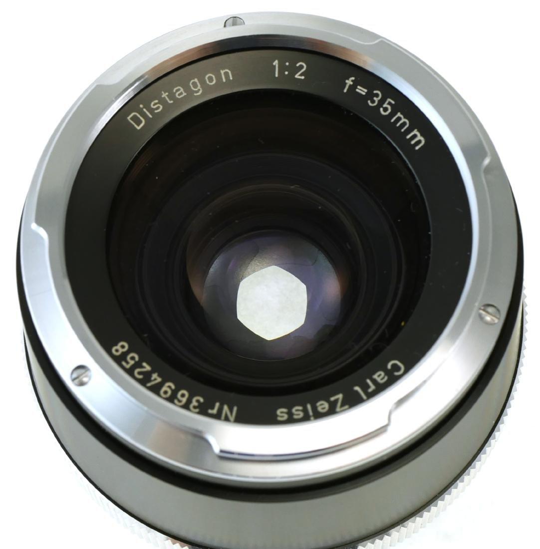 2 Carl Zeiss Lenses, Tessar & Distagon - 6