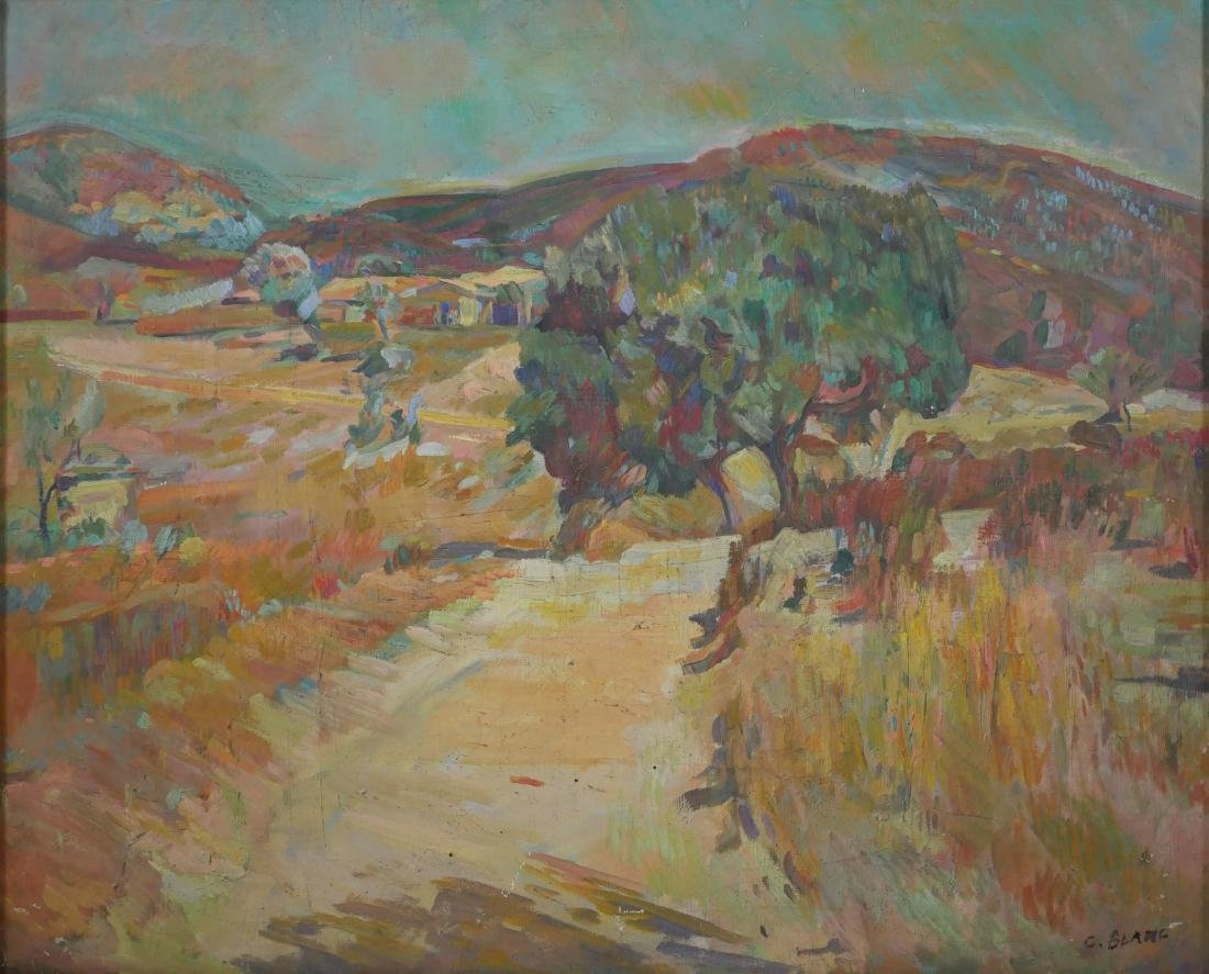 Charles Blanc Painting, Fauvist Landscape