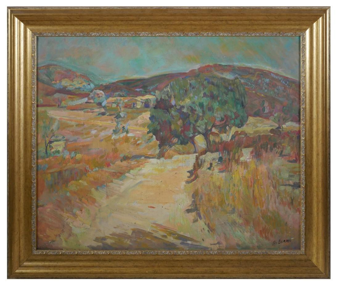 Charles Blanc Painting, Fauvist Landscape - 2