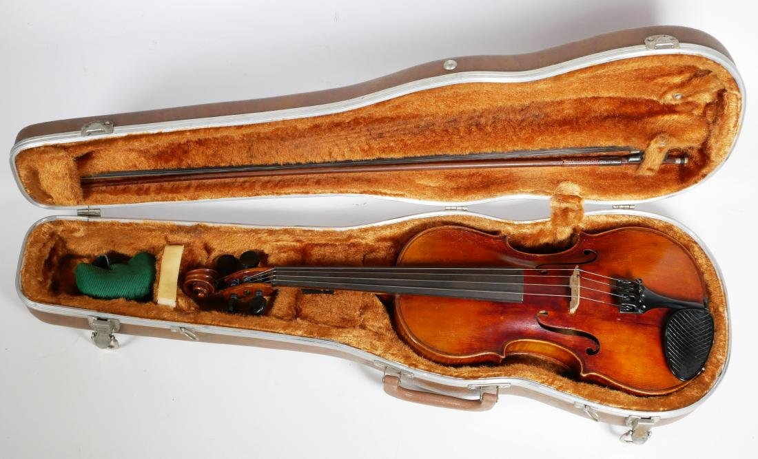 Carlo Bergonzi Violin & Anton Schroetter Bow