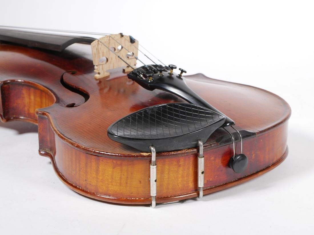 Carlo Bergonzi Violin & Anton Schroetter Bow - 6