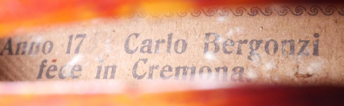 Carlo Bergonzi Violin & Anton Schroetter Bow - 8