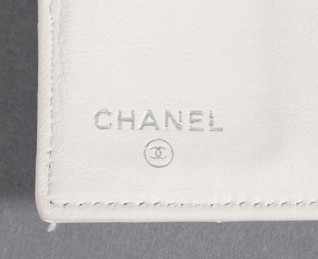 Chanel Authentic Chevron Pattern Wallet - 6