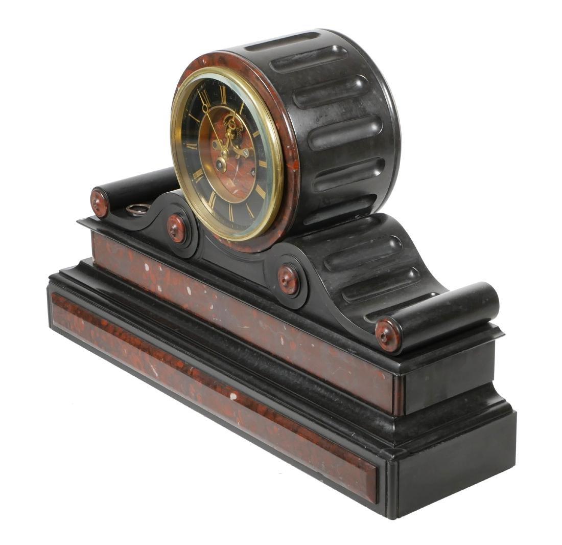 Detouche Open Escapement French Mantel Clock - 3