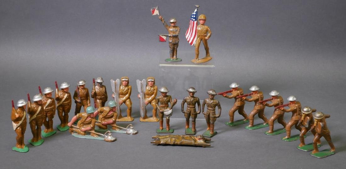 22 Manoil Barclay Lead Toy Soldiers