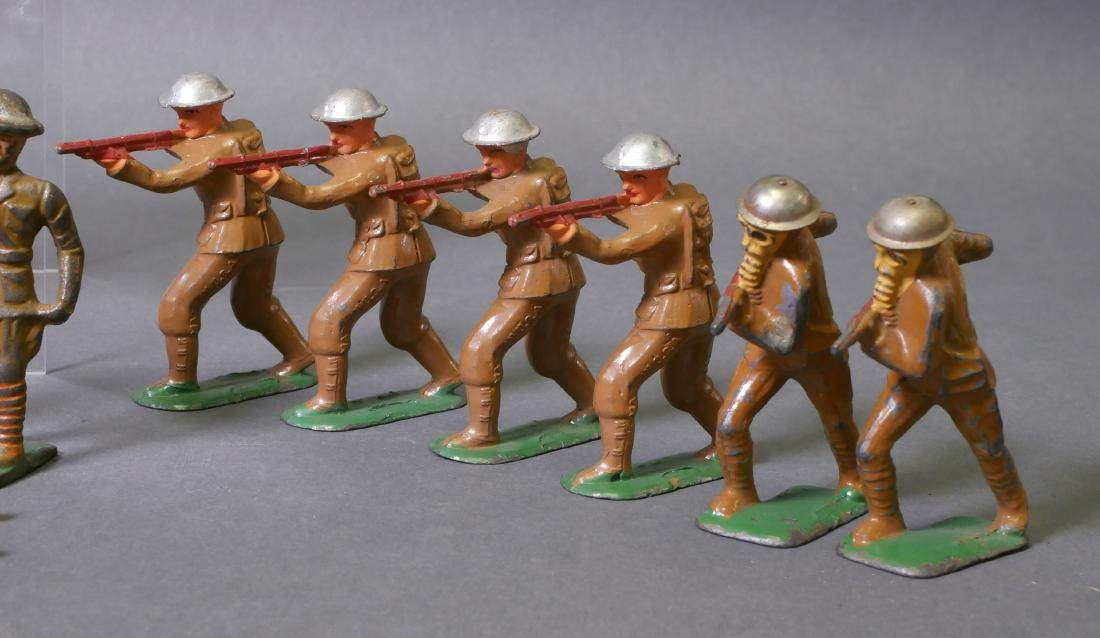 22 Manoil Barclay Lead Toy Soldiers - 2