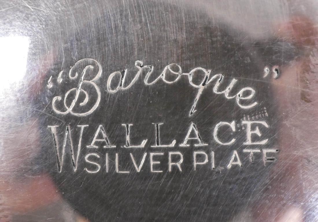 Wallace Baroque Silver Plated Tea Service - 3