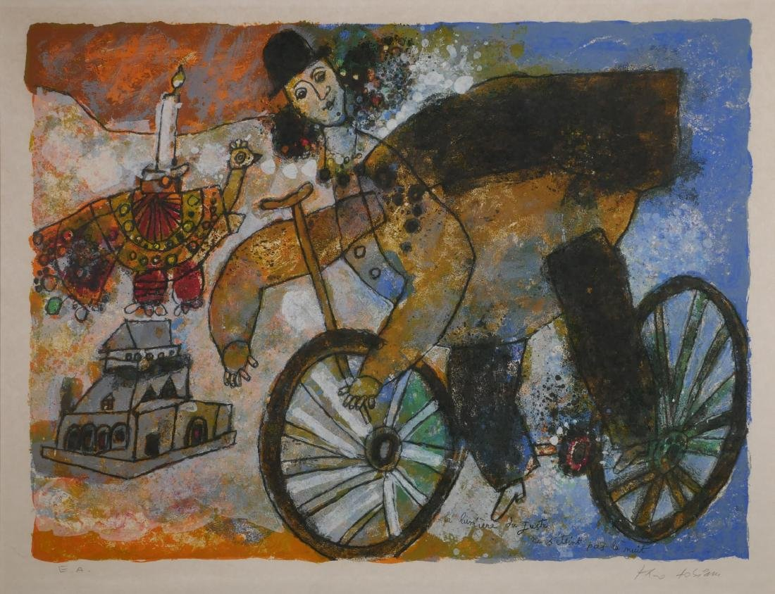 Theo Tobiassi Lithograph Light of the Righteous