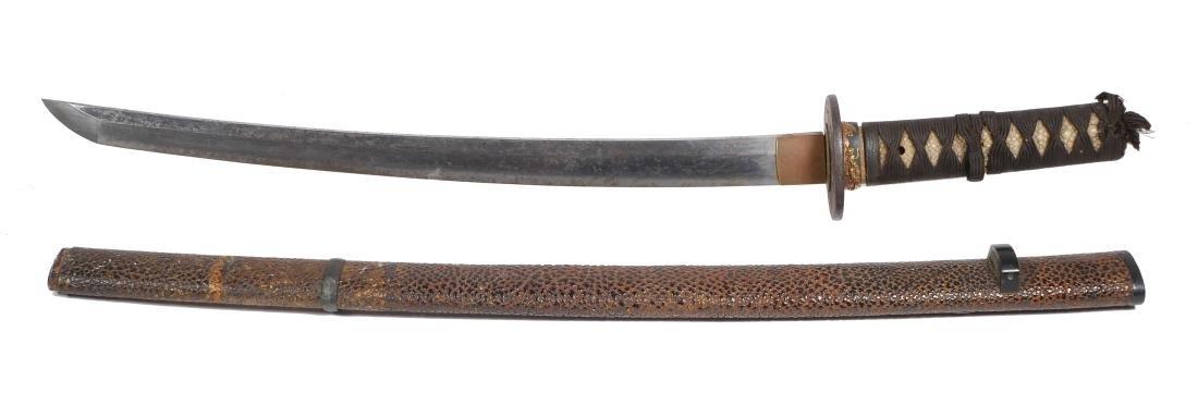 Japanese Wakizashi Yoshiyuki 17th Century