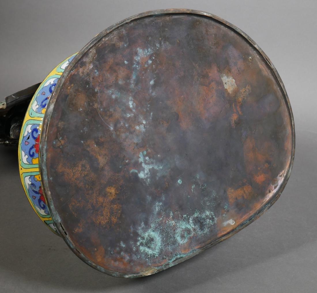 Antique Cloisonne Enamel Tara Buddha - 6