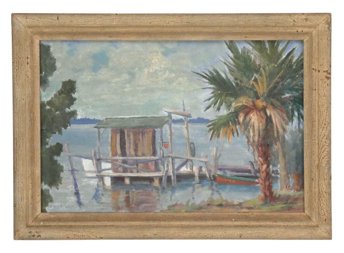 1947 Emmett Sutton Impressionist Painting - 2