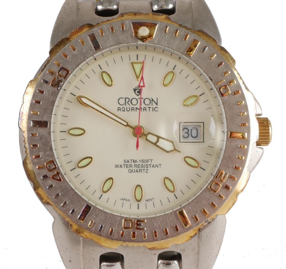 4 Croton Estate Mens Wristwatches - 2