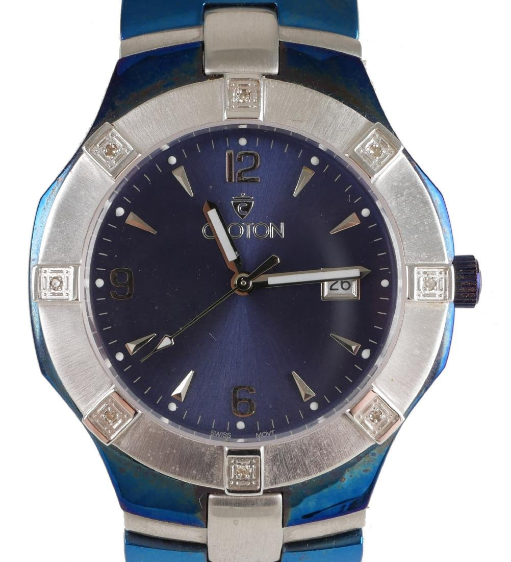 4 Croton Estate Mens Wristwatches - 4