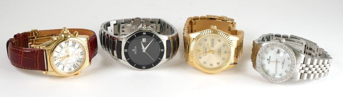 4 Croton Estate Mens Wristwatches