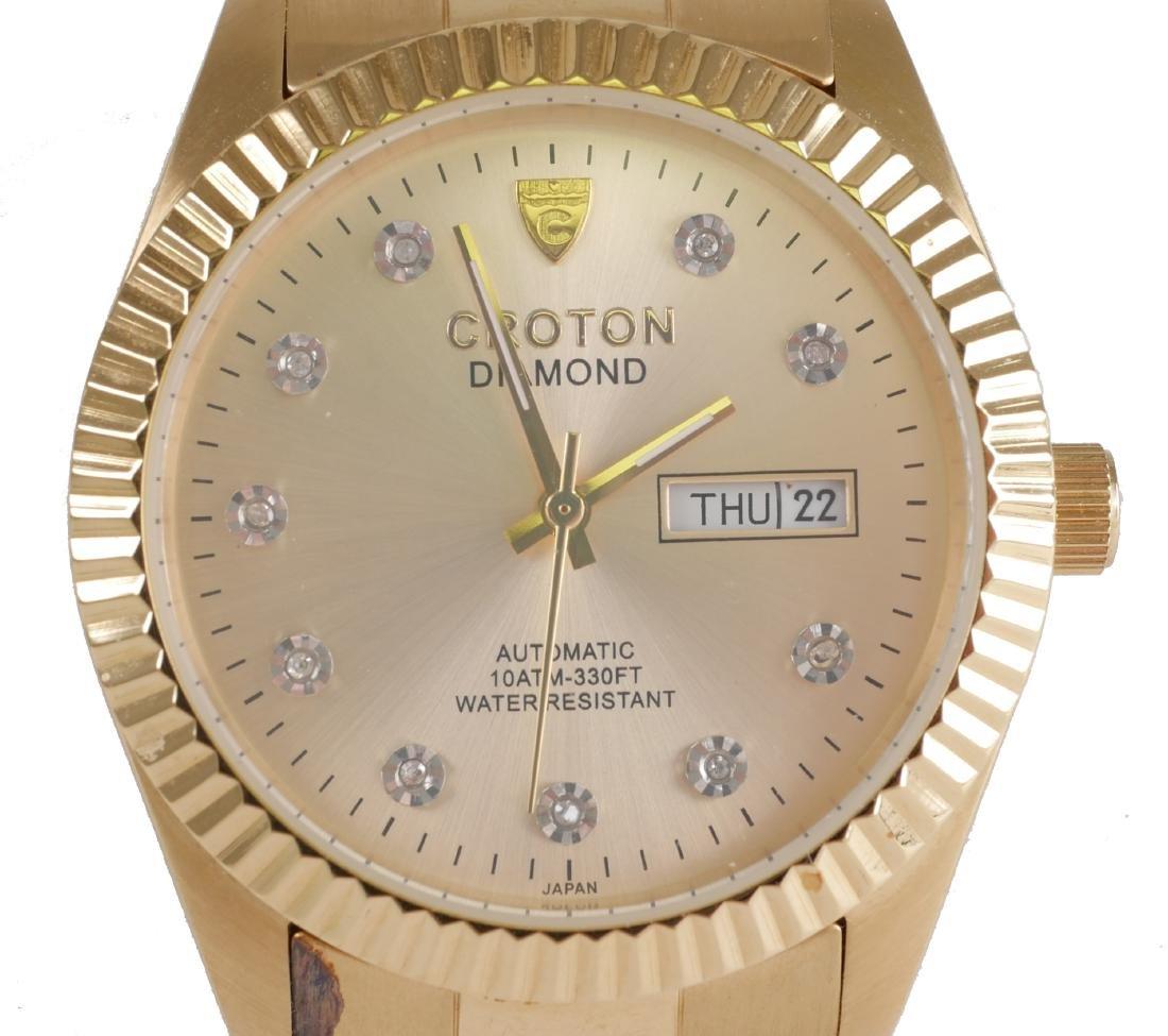 4 Croton Estate Mens Wristwatches - 4