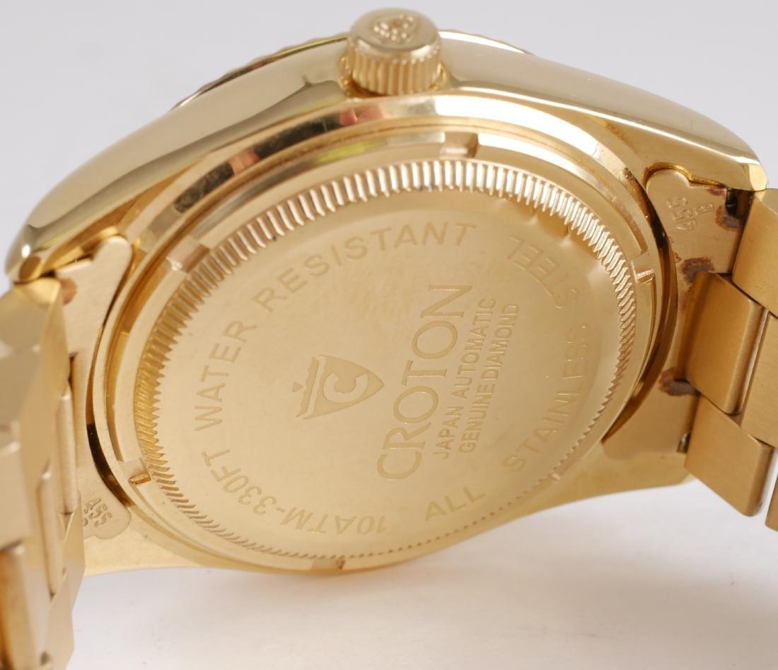 4 Croton Estate Mens Wristwatches - 5