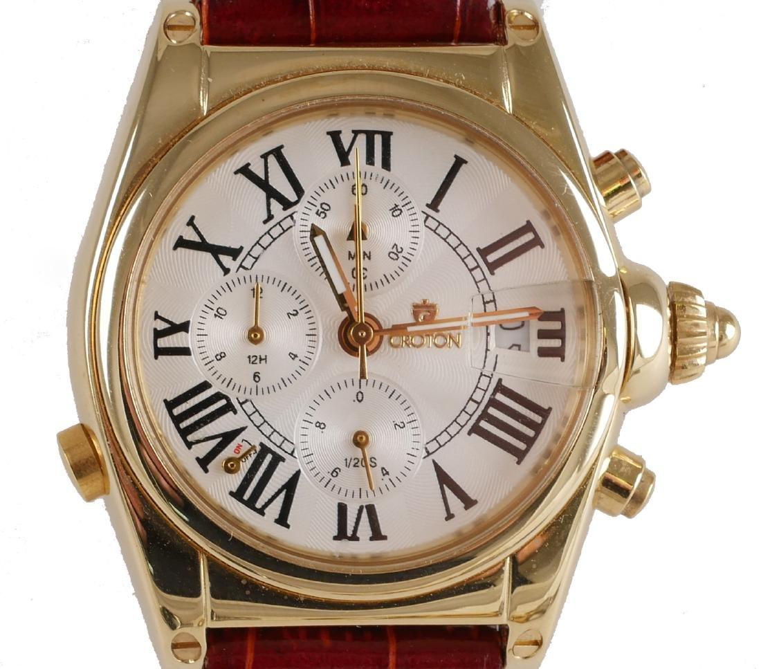 4 Croton Estate Mens Wristwatches - 8