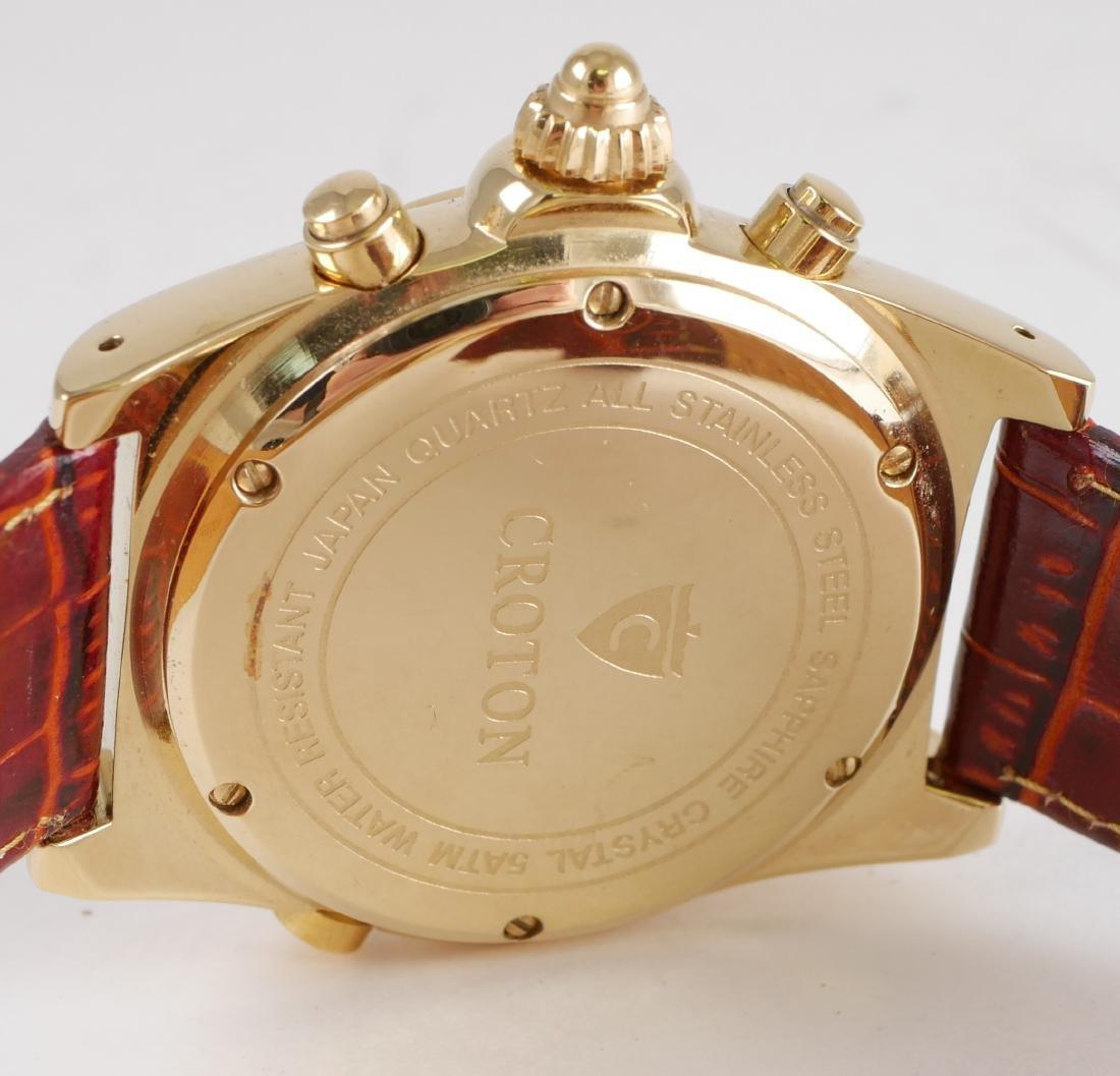 4 Croton Estate Mens Wristwatches - 9